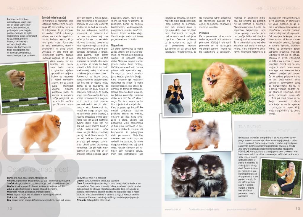 POMDELUXE v reviji Kužek 2